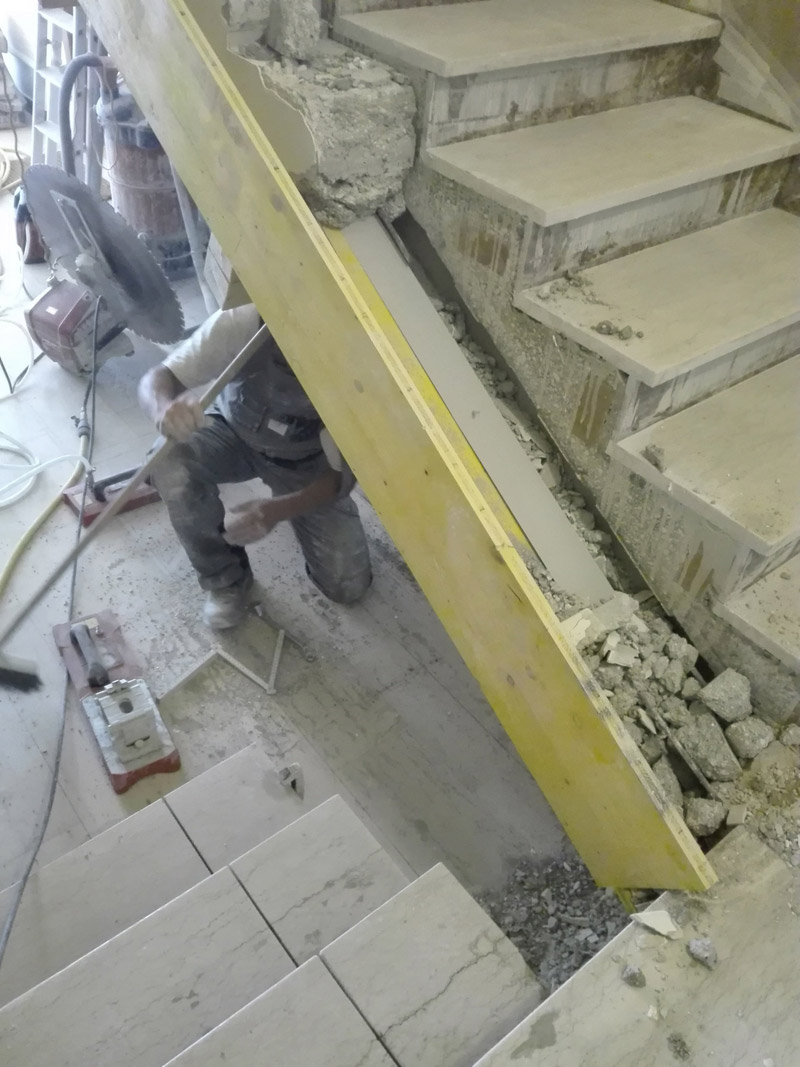 Taglio Solaio Per Scala scavi e carotaggi al diamante | senigallia, an | tagliamuri
